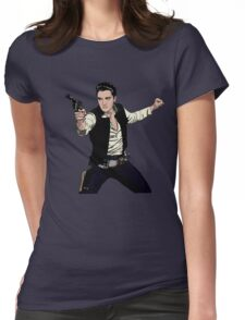 Han Elvis Solo Womens Fitted T-Shirt