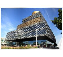 The New Birmingham Library Poster