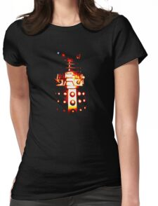 Dalek Alpha – Gold Womens Fitted T-Shirt