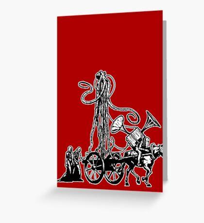 Gospel Machine #2 Greeting Card