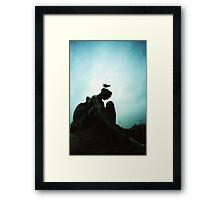 Bird Hair Day - Lomo Framed Print