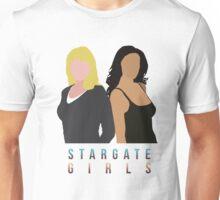 "Stargate - Sam & Vala ""Stargate Girls"" T-shirt.  Unisex T-Shirt"