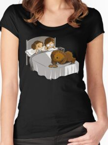 Not now Chewie Women's Fitted Scoop T-Shirt
