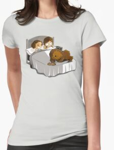 Not now Chewie Womens Fitted T-Shirt
