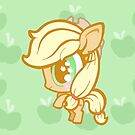 Weeny My Little Pony- Applejack by LillyKitten