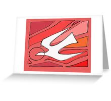 Holy Spirit illustration Greeting Card