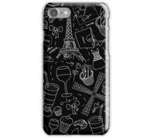 - Walking in Paris pattern 2 - iPhone Case/Skin
