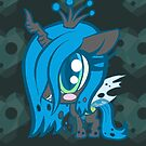Weeny My Little Pony- Queen Crysalis by LillyKitten