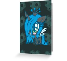 Weeny My Little Pony- Queen Crysalis Greeting Card