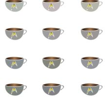 Fifty Shades of Earl Grey (Star Trek) _ No Outline Sticker