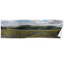 Arkengarthdale Panorama  Poster