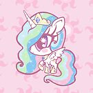 Weeny My Little Pony- Princess Celestia by LillyKitten