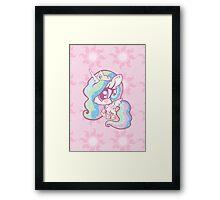 Weeny My Little Pony- Princess Celestia Framed Print