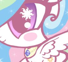 Weeny My Little Pony- Princess Celestia Sticker