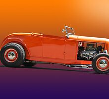 1932 Ford Classic Hot Rod Roadster by DaveKoontz