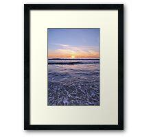 SoCal Sunset 3 Framed Print
