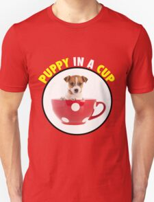 Puppy In A Cup T-Shirt