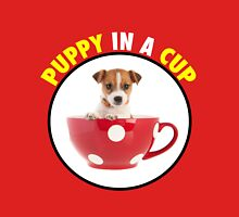 Puppy In A Cup Unisex T-Shirt