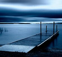 Blue Dawn - Leech Lake, MN by Michael Treloar