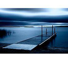Blue Dawn - Leech Lake, MN Photographic Print