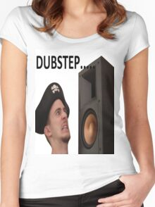 Dubstep Pirate Women's Fitted Scoop T-Shirt