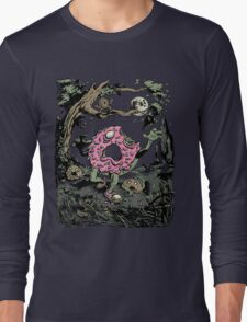Night of the Undead Doughnuts Long Sleeve T-Shirt