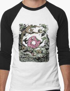 Night of the Undead Doughnuts Men's Baseball ¾ T-Shirt