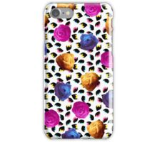 Tricolor Roses & Eyes iPhone Case/Skin
