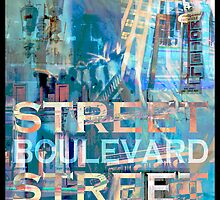 Street Scene Signs by John Fish