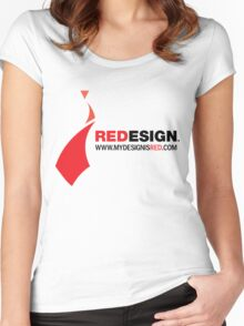 REDesign Web tee Women's Fitted Scoop T-Shirt