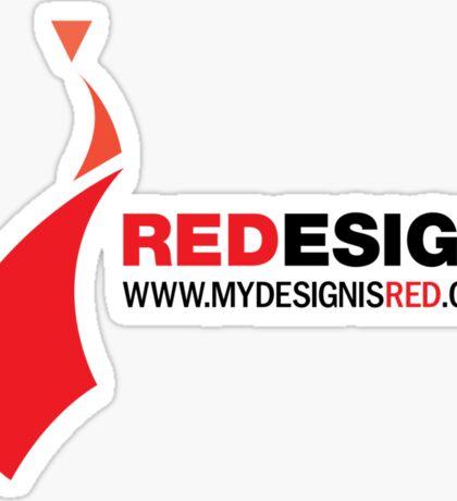 REDesign Web tee Sticker