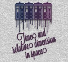 Time And Relative Dimension In Space - T.A.R.D.I.S by LovelyOwls