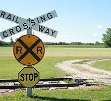 Rural Railway Crossing by rhamm