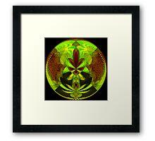 Neon Daze Framed Print