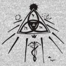 Masonic Knot of Light by BlueLine LEO