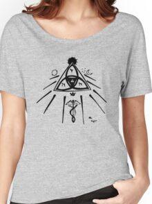 Masonic Knot of Light Women's Relaxed Fit T-Shirt