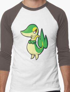Snivy Men's Baseball ¾ T-Shirt