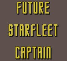 Future Starfleet Captain by spacethyla