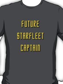 Future Starfleet Captain T-Shirt