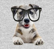 Jack Russel Terrier with Glasses Unisex T-Shirt