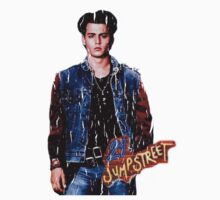 21 Jump Street Johnny Depp - Distressed Version Kids Clothes