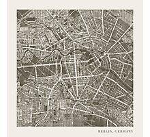 Berlin Map Photographic Print