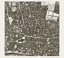 London Map by Zeke Tucker