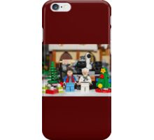 Doc and Marty Xmas iPhone Case/Skin