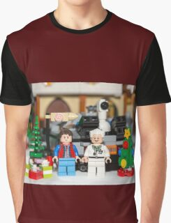 Doc and Marty Xmas Graphic T-Shirt