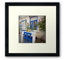Come In, Relaxe! Framed Print