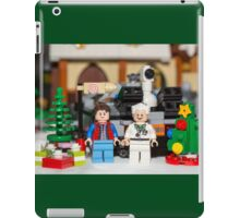Doc and Marty Xmas iPad Case/Skin