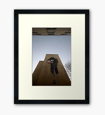 Painting the town Rouge Framed Print