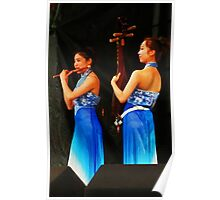 The Chinese Musicians Poster