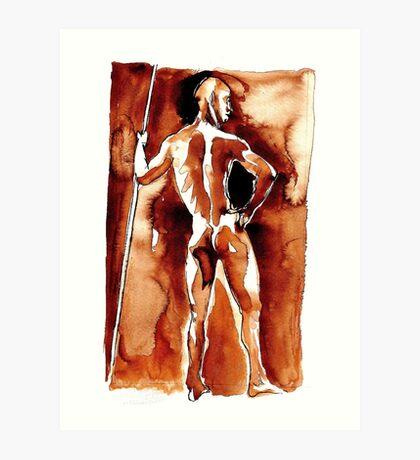 The Spartan Art Print